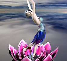 Water Sprite by Sandra Bauser Digital Art