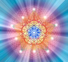 Sacred Geometry 14 by Endre