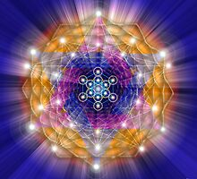 Sacred Geometry 23 by Endre