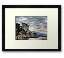 Monaco Oceanarium  Framed Print