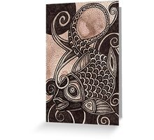 The Laughing Fish Greeting Card