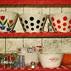 kitchen collectibles by Lynne Prestebak