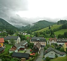 In the Valley - Austria by Reuben Reynoso