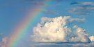 Cloud and Rainbow - Dunrobin Ontario by Debbie Pinard