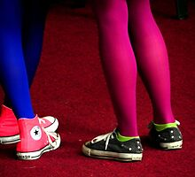 Fluorescent Legs by payomadrid