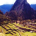 Machu Picchu D view by Lee Gunderson
