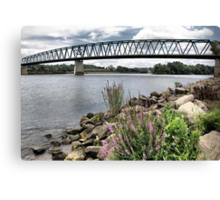Spanning the Ohio River Canvas Print