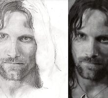 Aragorn (work in progress) by spencer bawden