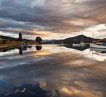 Wooden Boat School, Franklin Tasmania #2 by Chris Cobern