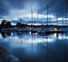 Port Huon Marina, Tasmania by Chris Cobern