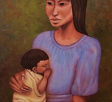 Mother and Child by Alicia  Liliana