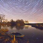 Boat Pond Startrails by Nick Atkin