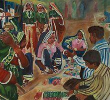 Bangle Seller by dipti9