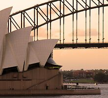 sydney sunset by philippou
