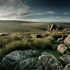 Black Tor, Dartmoor, Devon. by Justin Foulkes