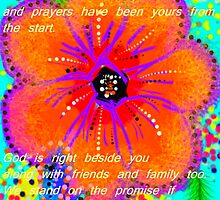 To Deb and Jim: You Are In Our Prayers by Charldia