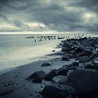 Happisburgh Sea Defence, Norfolk by DaveTurner