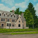 Kappa Delta Rho North View by Charlotte  Blanchard