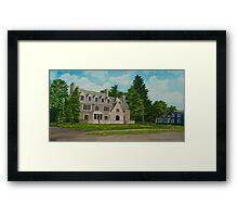 Kappa Delta Rho North View Framed Print