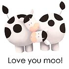 Love you moo! by Koekelijn
