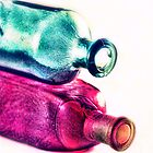 Colorfull bottles by nefetiti