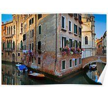 Venice Corner Poster