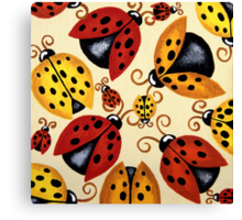 'Lady Bugs'   Canvas Print