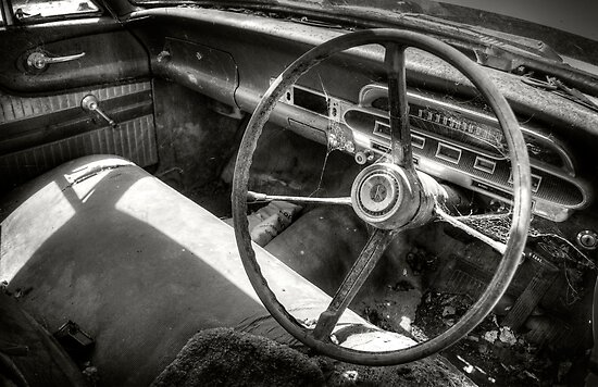 The Old Ford Falcon by Mieke Boynton