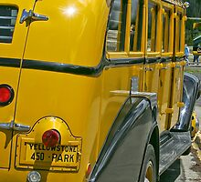 Yellowstone Bus by Ken McElroy