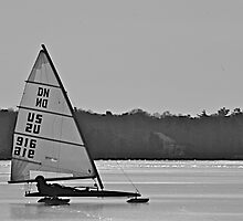 Ice Sailing by Russell L. Frayre / Photographer