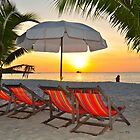 daybreak - waiting for the tourists by jomtien