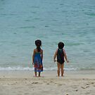 Children on the beach of Phuket by spazjazz101