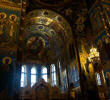 Church of the Saviour on the Spilt Blood, Shrine by Daniel Berends