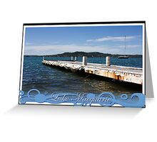 Private Jetty Greeting Card