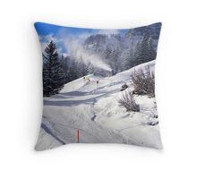 Fresh snow..... Throw Pillow