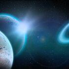 Epsilon EridaniB-SpaceArt-exo-planet by VirtualArtist