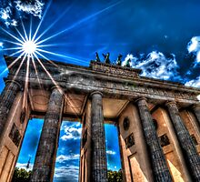 Brandenburg Gate by Adam Olson