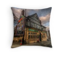 Old Silk Mill Throw Pillow