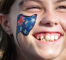 Proud Aussie Girl by Bernie Stronner