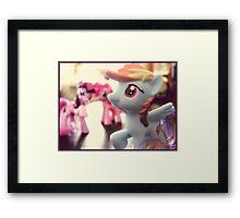 Rainbow Dash Framed Print