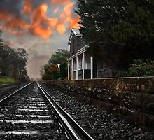 Waiting At The Station by peterperfect