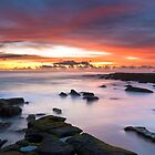 Sunrise at Soldiers Beach #1 by Mathew Courtney