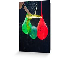 Balloonicidal I Greeting Card
