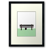 I Just Felt Like Running [Minimal Version] Framed Print