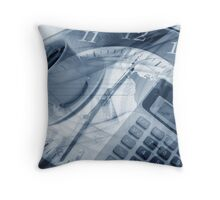 Business design background Throw Pillow