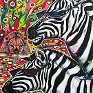 &#x27;Zebra Cool&#x27; by Jerry Kirk