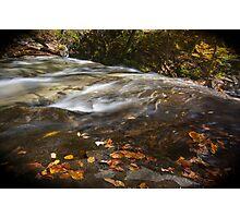 Autumn in Ricketts Glen 3.0 Photographic Print