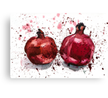 Pomegranate Evening Canvas Print