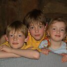 Three siblings by Mary Taylor