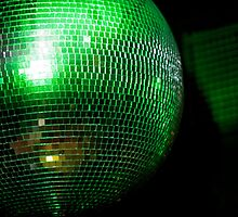 green glitter one by Annalisa Bruno